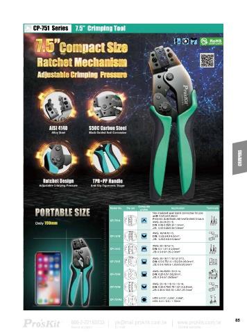 Page 87 - Pro'sKit Product Catalog Vol 27